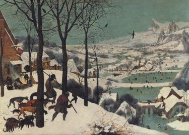 びじゅチューンの「雪中のフォーメーション<山>」が可愛かったので「雪中の狩人」を調べました